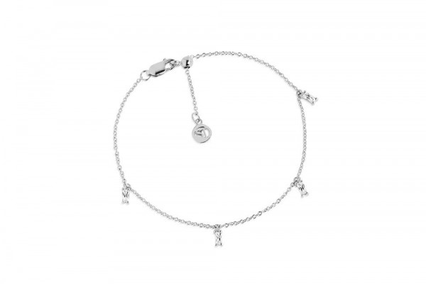 Armband Princess Baguette - mit weißen Zirkonia