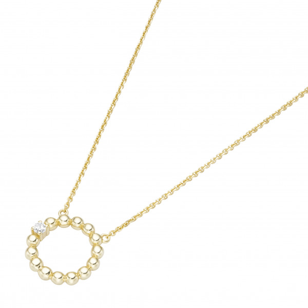 Damenhalskette Halskette 585 Gelbgold by Da-lino 99041650450