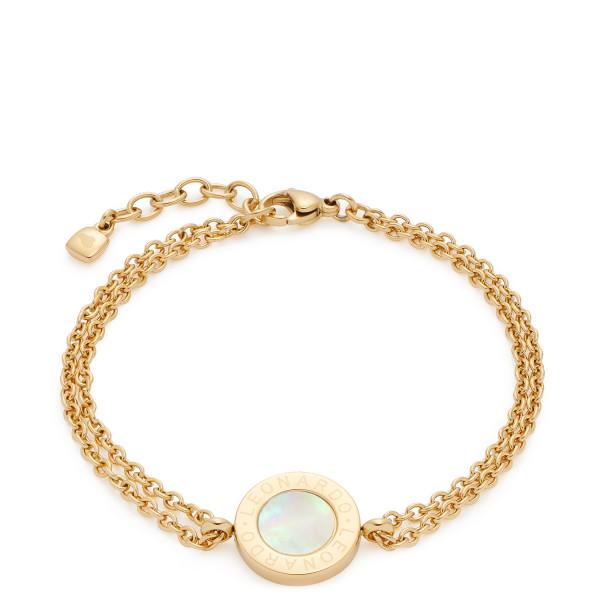 LEONARDO Armband Mauritia Ankerkette in Gold