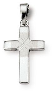Kreuzanhänger 925 Silber 18mm