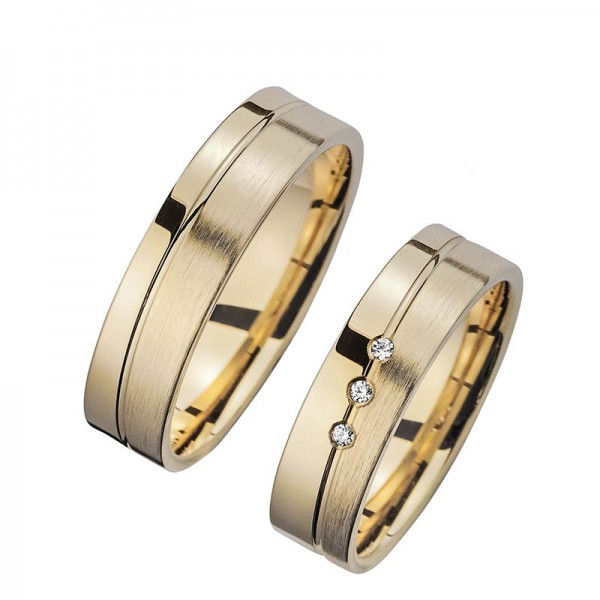 Trauringe Gelbgold Cilor Perfect Love Kollektion HR 37A
