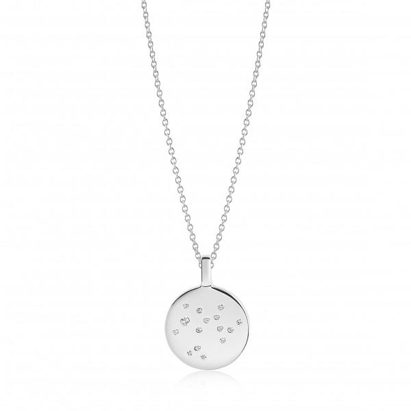 Halskette Zodiaco Schütze mit weißen Zirkonia
