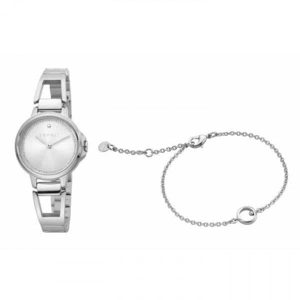 Schmuck Set Esprit Damen Armbanduhr und Armband