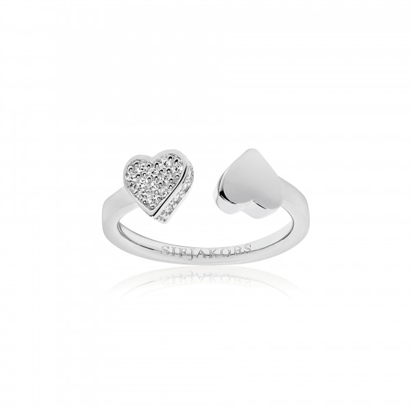 Damenring Ring Amore mit weißen Zirkonia SJ-R21852