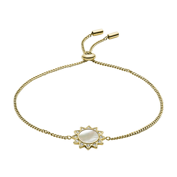 Fossil Damen Armband You Are My Sunshine in Gold