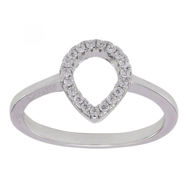 Joanli Nor Damenring Rhod. Silber Ring ALAINE
