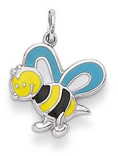 Anhänger Biene 925 Silber