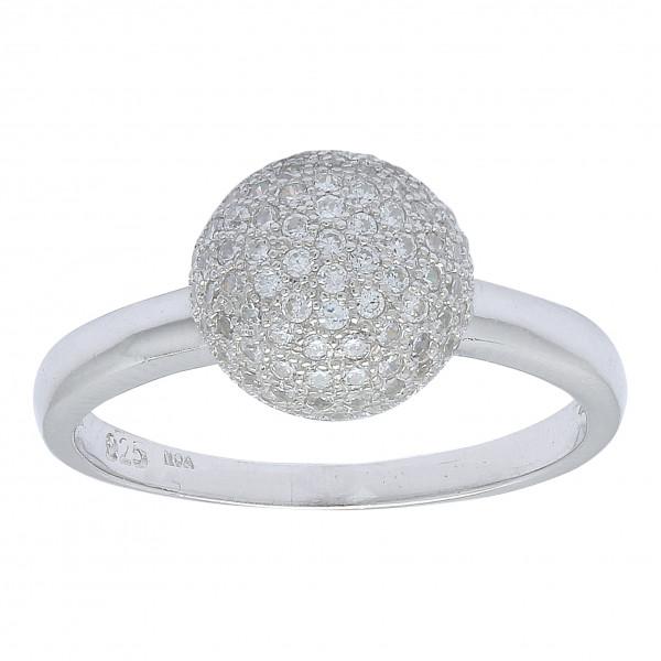 Joanli Nor Damenring Rhodinierter Silber Ring AMOLA
