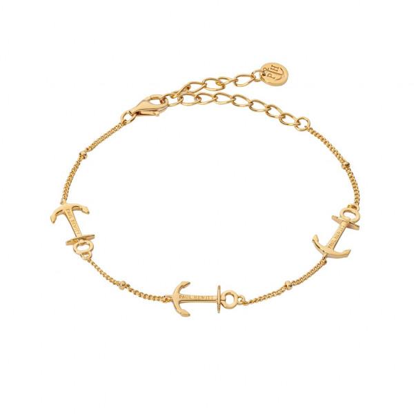 PAUL HEWITT Damen Armband Anchor Rope Gold
