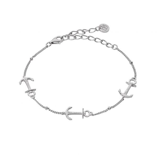PAUL HEWITT Damen Armband Anchor Rope Silber