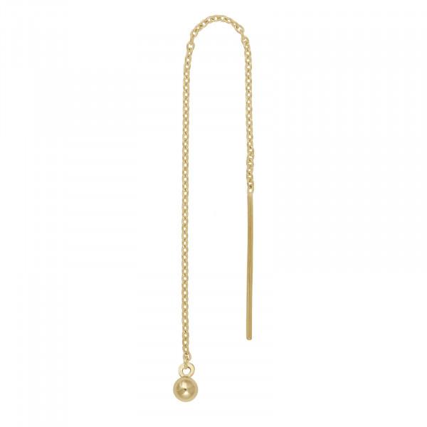 Nordahl Jewellery Damen - Ohrhänger aus 14 Karat 585er Gold