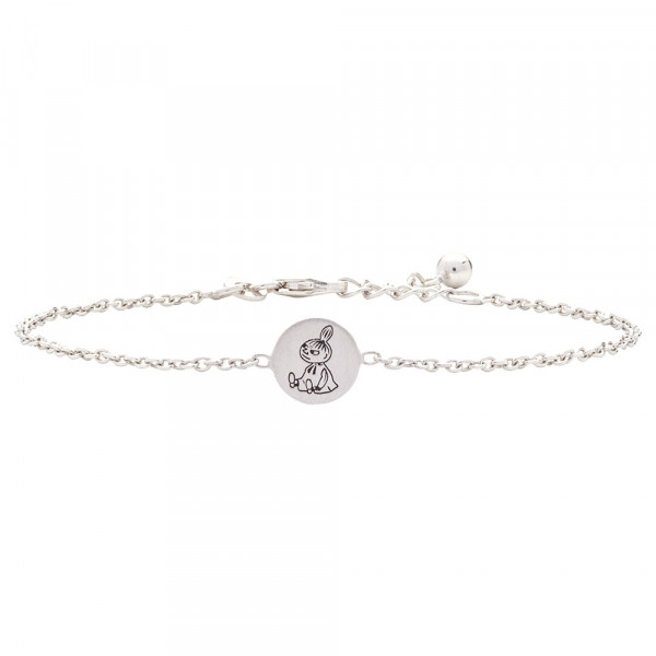 Kinder-Armband, NOA KIDS JEWELLERY silber rhod. Little My Disc Emaille