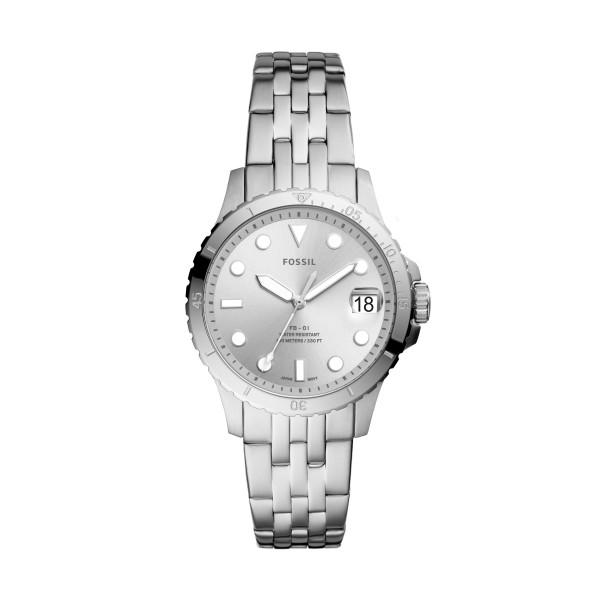 Fossil Uhr Damen FB-01 3-Zeiger/Datum Edelstahl