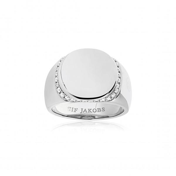 Damenring Ring Follina mit weißen Zirkonia SJ-R1063