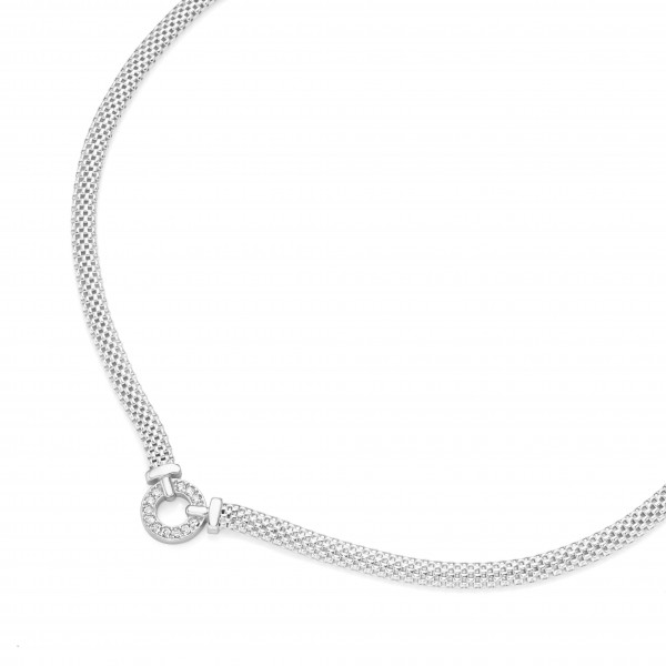Damenhalskette Collier 925 silber by Da-lino 99029393450