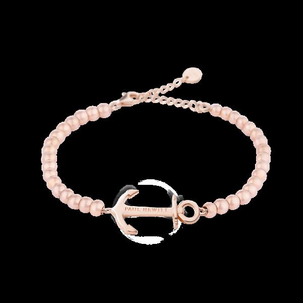 PAUL HEWITT Damen Armband Anchor Spirit In Roséold mit Perlen