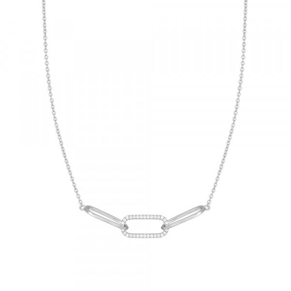 Damenhalskette Halskette FIENOR 42+3cm