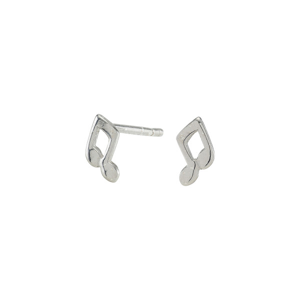 NOA KIDS JEWELLERY Kinder-Ohrstecker silber rhod. Note