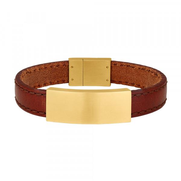 SON of NOA Herren-Armband Armband braunes Kalbsleder
