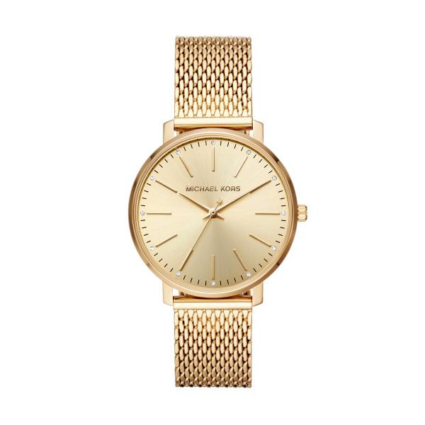 Michael Kors in Edelstahl Gold Uhr Damen