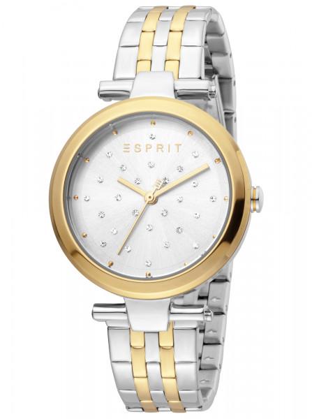Damenuhr Esprit Gold Silber mit Zirkonia
