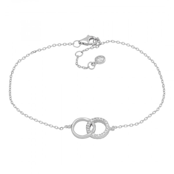Damenarmband Armband ANNA Kreise mit Zirkonia 845 042