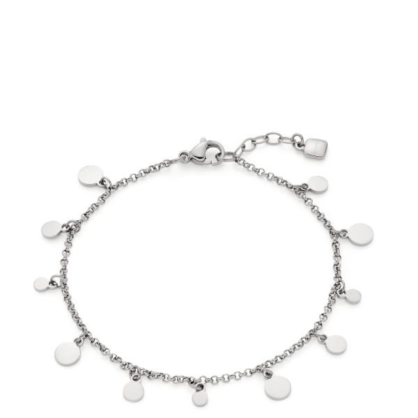 LEONARDO Armband in Silberfarbenen Edelstahl Rica CIAO