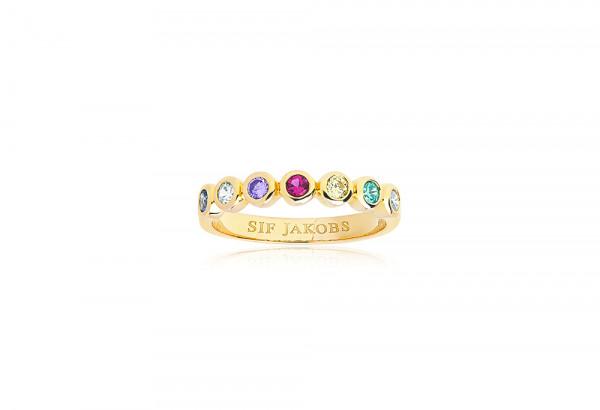 Damenring Ring Sardinien Sette mit Zirkonia SJ-R11186