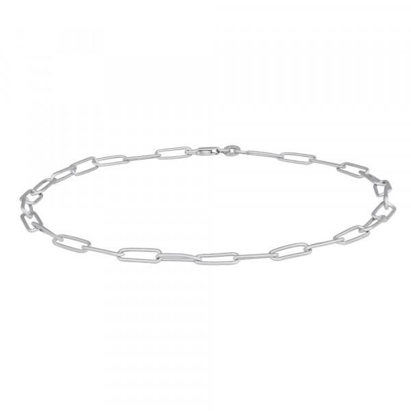 Nordahl Jewellery Damenfusskettchen Rhod. Silber Fusskettchen BOND52 27cm