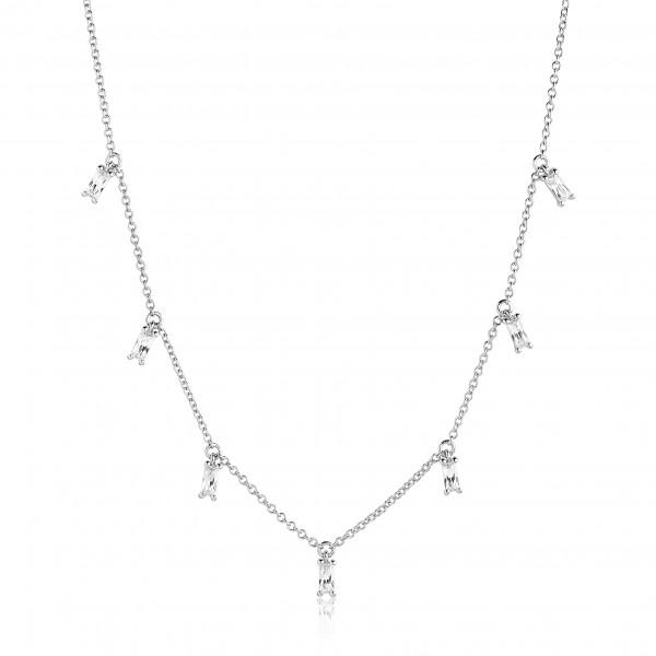 Halskette Princess mit weißen Zirkonia
