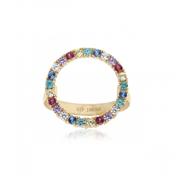 Damenring Ring Biella Grande Zirkonia SJ-R3120