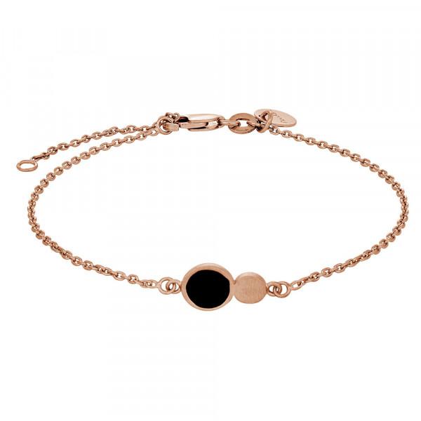 Nordahl Jewellery Armband mit schwarzen Emaille