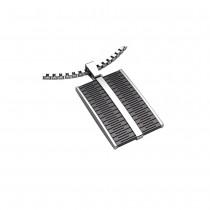 SON of NOA Herren-Halskette Halskette mit Stahlanhänger