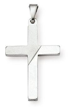 Kreuzanhänger 925 Silber 24mm