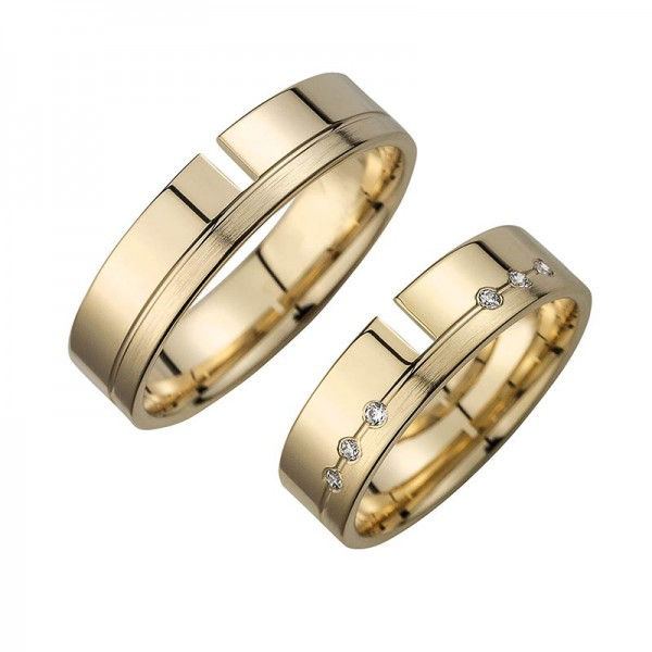Trauringe Gelbgold Cilor Perfect Love Kollektion HR 39A