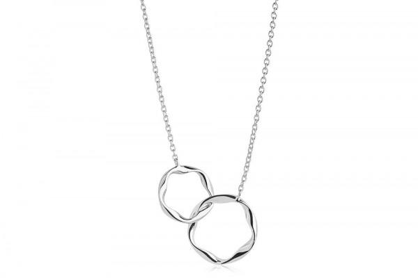 Sif Jakobs Damen Halskette Cetara Pianura Due 925er Silber
