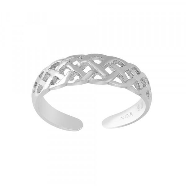 Nordahl Jewellery Damenzehenring Rhod. Silber BEACH52
