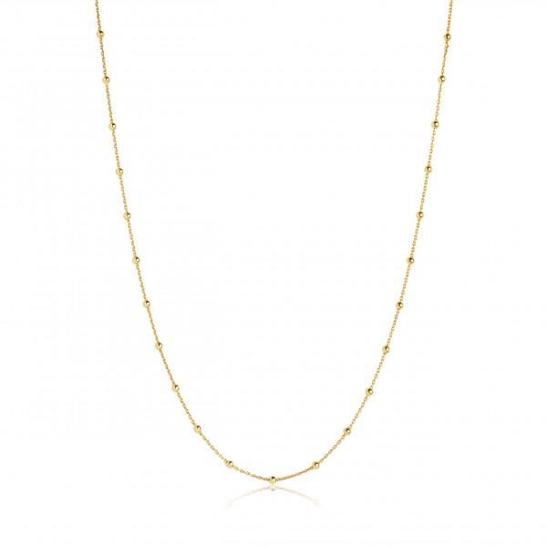 Sif Jakobs Damen Halskette Cavalier 18K vergoldet