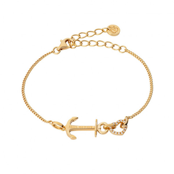 PAUL HEWITT Damen Armband Anchor Love Gold