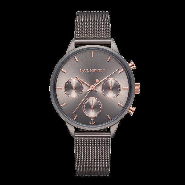 Paul Hewitt Uhr Damen Everpulse Grey Metallic Mesh