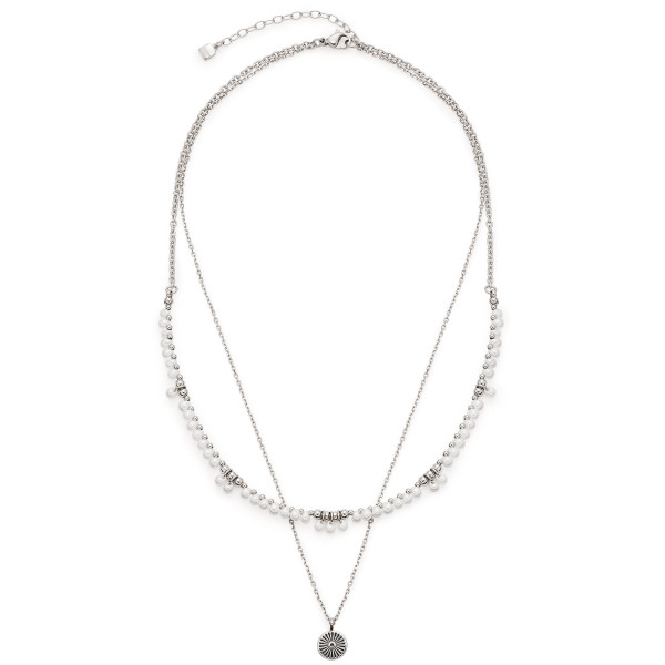 LEONARDO Damen-Halskette Halskette Jasmina 40cm