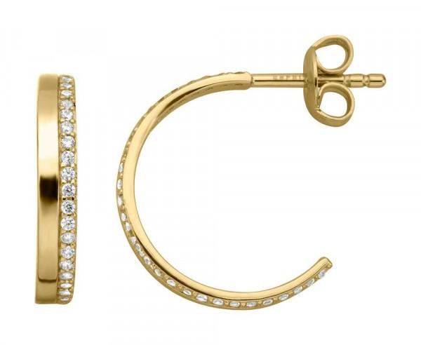 Esprit Damen - Ohrstecker Gold mit Zirkonia