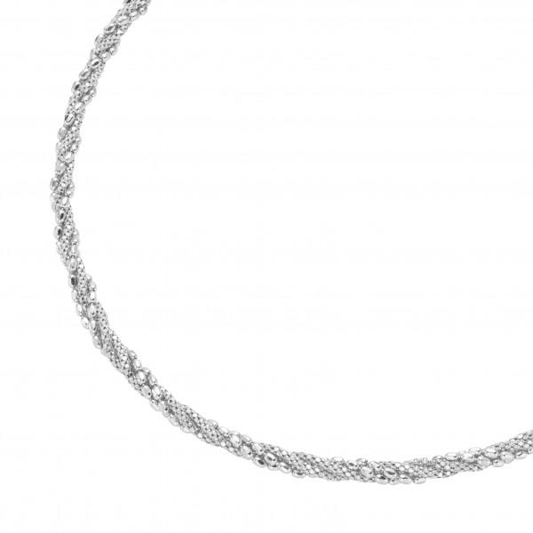 Da-lino Damen Halskette gedreht in 925er Silber
