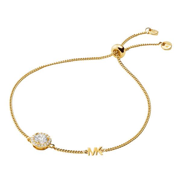 Michael Kors Damen Armband gold mit Zirkonia