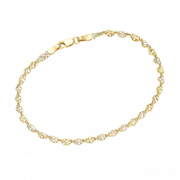 Da-lino Singarpur Armband in 375 er Gold