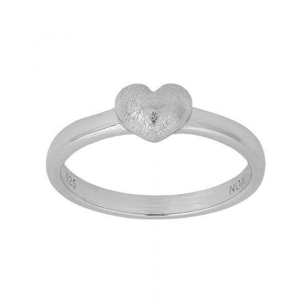 Kinder-Ring, NOA KIDS JEWELLERY silber rhod. mit Herz