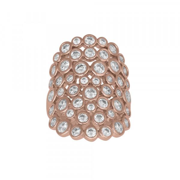 Rosévergoldeter Silber Ring EMMYNOR