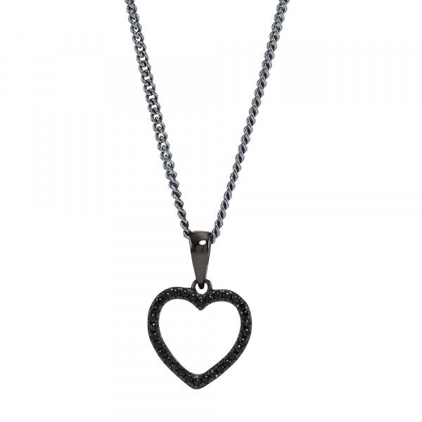 Joanli Nor Halskette mit Herz Anhänger AIDA