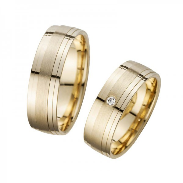 Trauringe Eheringe Gelbgold Cilor Perfect Love Kollektion HR 79A