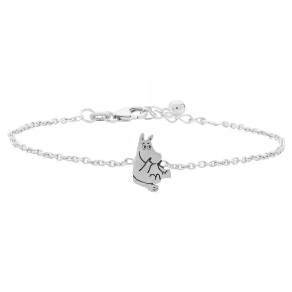 Kinder-Armband, NOA KIDS JEWELLERY silber rhod. Moomin Emaille